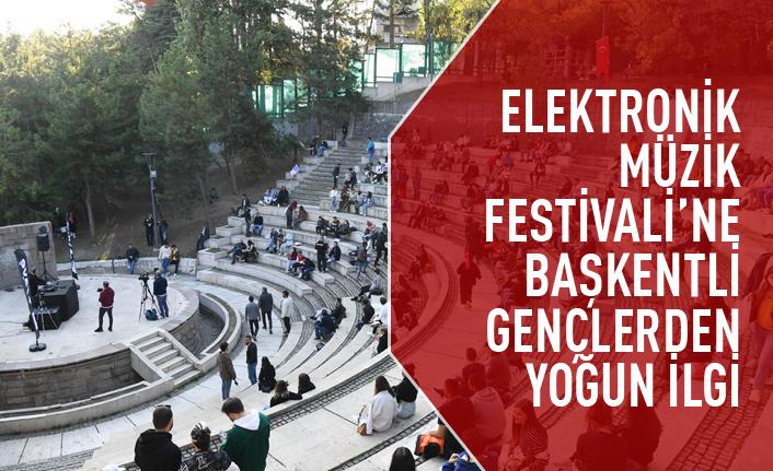 Elektronik Müzik Festivali'ne yoğun ilgi