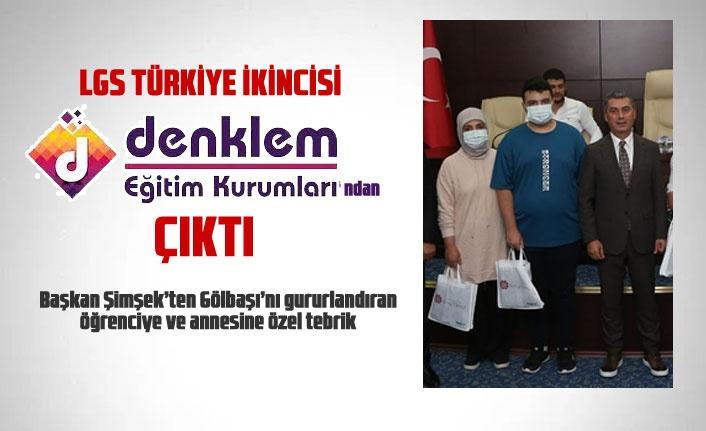 LGS Türkiye ikinci Denklem Eğitim Kurumları'ndan çıktı