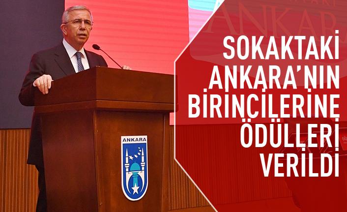 Sokaktaki Ankara'nın kazananların ödülleri verildi