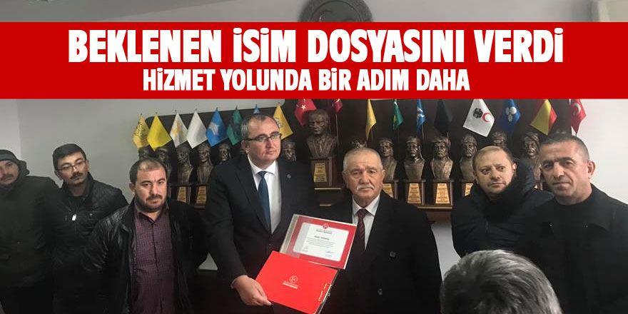 Abdullah Karaağaç meclis üyesi aday adayı oldu