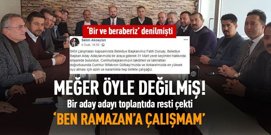 Ak Parti'de 'Ramazan Şimşek' çatlağı