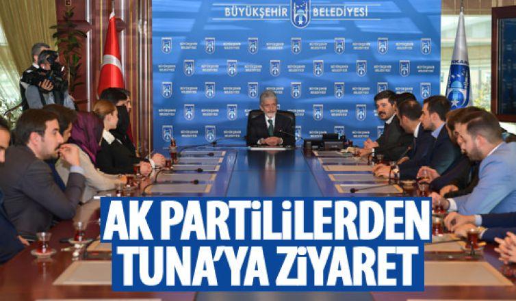 AK Partili gençlerden Tuna'ya ziyaret
