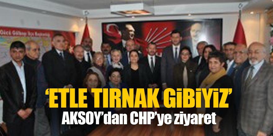 Aksoy'dan CHP'ye ziyaret
