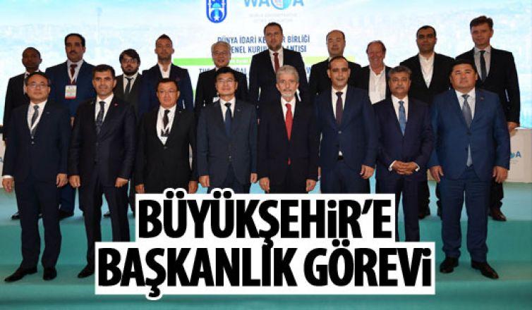 Ankara Büyükşehir Belediyesi, Dünya İdari Kentler Birliği Başkanı oldu