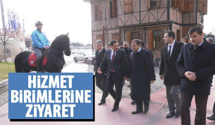 Ankara Büyükşehir Belediyesi Genel Sekreteri Refik Tuzcuoğlu'ndan ANFA'ya ziyaret
