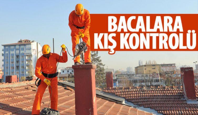 Ankara İtfaiyesi kış hazırlıklarına yardımcı