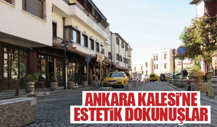 Ankara Kalesi'nde düzenlemeler!