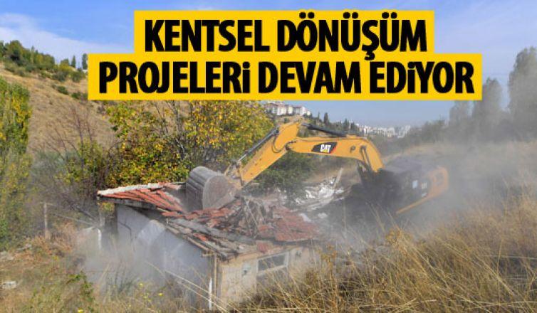 Ankara'da kentsel dönüşüm projeleri devam ediyor