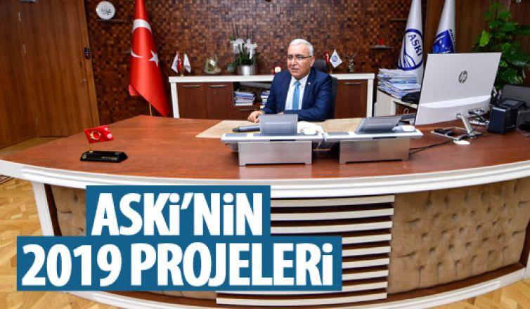 ASKİ Genel Müdürü Kınacı projeleri açıkladı