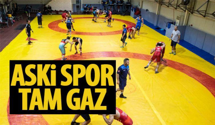 ASKİ Spor çalışmaya devam ediyor