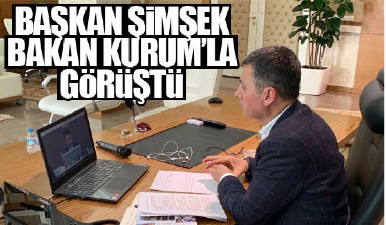 Başkan Şimşek, Bakan Kurum'la görüştü!