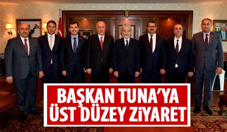 Başkan Tuna'ya ziyaret