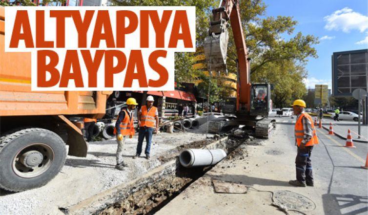 Başkent'in alt yapısı yenileniyor!
