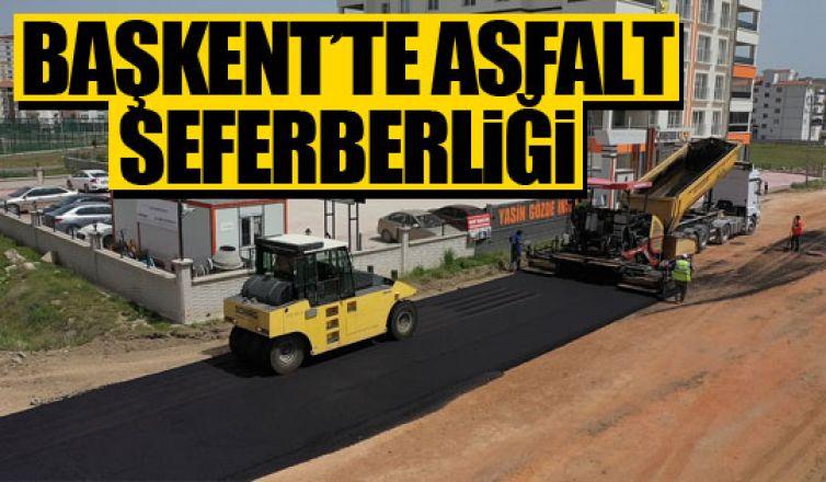 Başkent'te asfalt seferberliği!