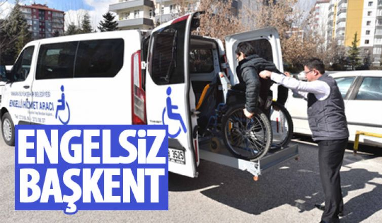 Büyükşehir'den engellilere büyük hizmet