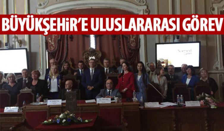 Büyükşehir'e uluslararası görev!