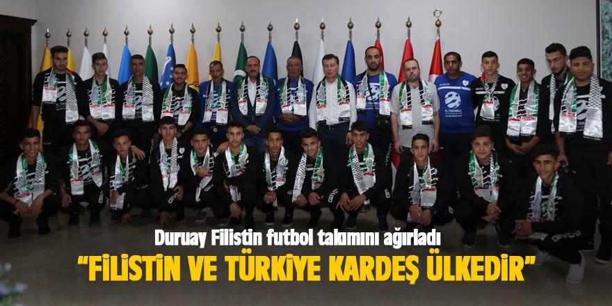 Filistinli Futbol Takımı Gölbaşı'nda Kampa Girdi.