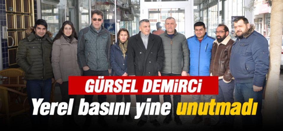 GÖL-DER Başkanı Gürsel Demirci yerel basını yine unutmadı