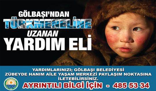 Gölbaşı Belediyesi Bayırbucak Türkmenlerine Yardım Kampanyası Başlattı