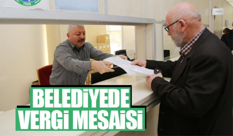 Gölbaşı Belediyesi'nde yoğun vergi mesaisi!