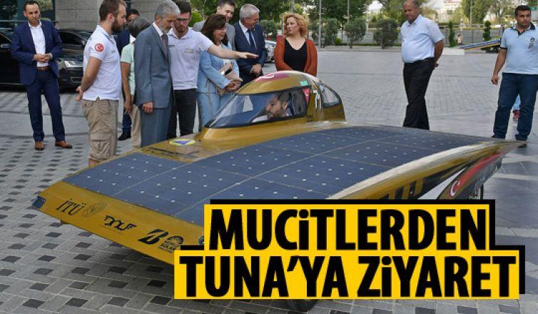 Güneş arabası projesi Büyükşehir'de