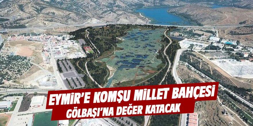 İlk kez görüldü! İşte Ankara'nın ilk Millet Bahçesi
