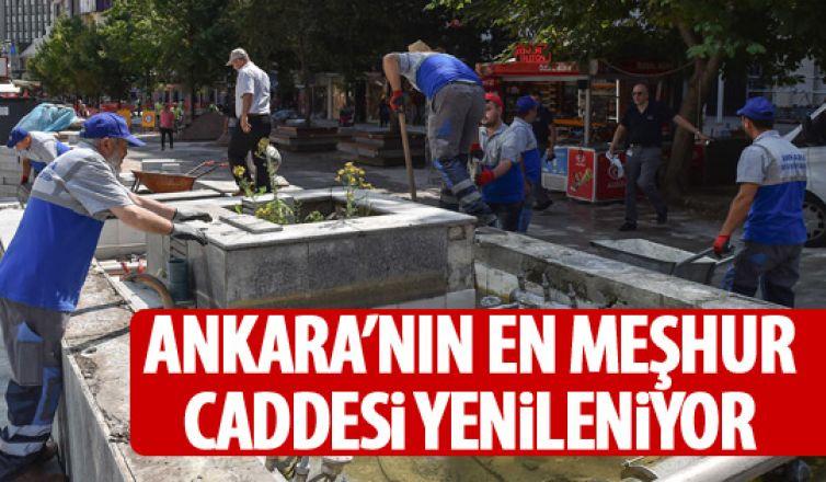 İzmir Caddesi yenileniyor