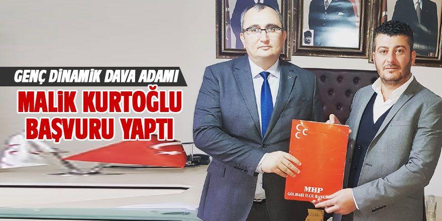 Kurtoğlu MHP'den meclis üyesi aday adayı oldu
