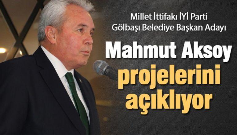 Mahmut Aksoy projelerini açıklıyor