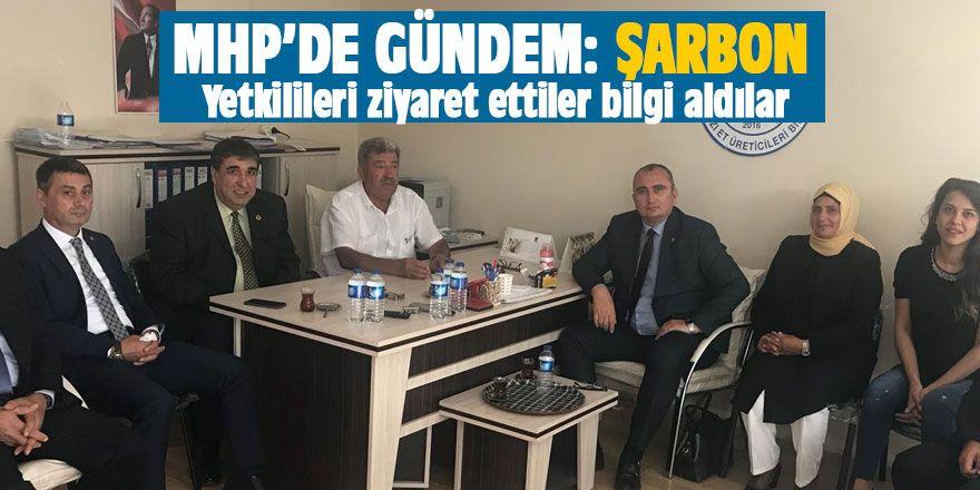 MHP'de gündem: Şarbon