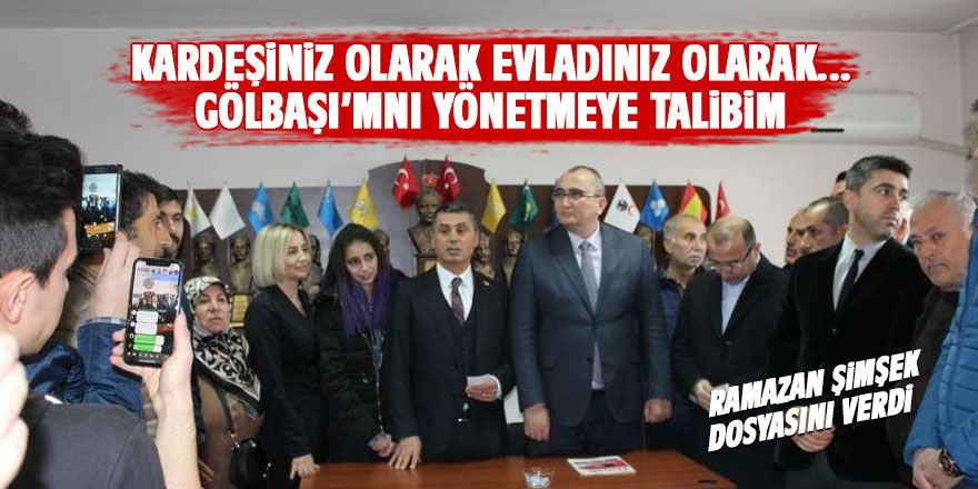 MHP'de Ramazan Şimşek coşkusu