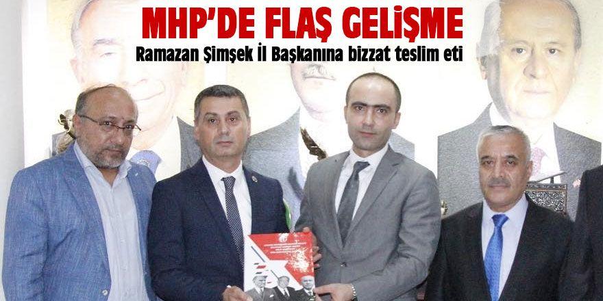 MHP'li Ramazan Şimşek çalışmalarını tamamladı