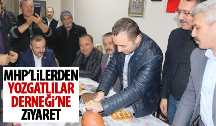 MHP'lilerden Yozgatlılar Derneği'ne ziyaret!
