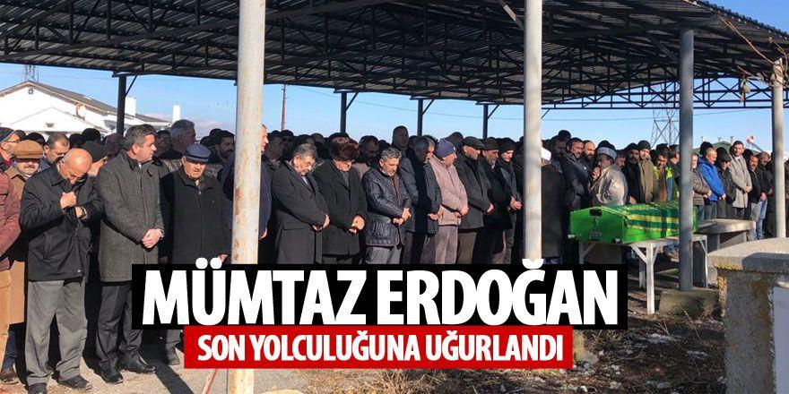 Mümtaz Erdoğan son yolculuğuna uğurlandı