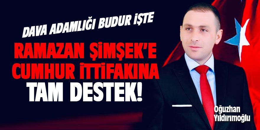 Oğuzhan Yıldırımoğlu Sosyal Medya Hesabından Paylaştı