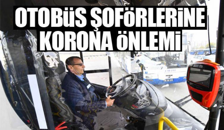 Otobüs şoförlerine koronavirüs önlemi!