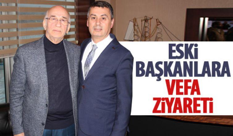 Ramazan Şimşek'ten eski başkanlara ziyaret