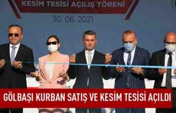 Ankara, en modern kurban satış ve kesim merkezine kavuştu