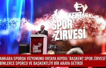 Başkent sporda vizyonunu ortaya koydu: ' Başkent spor zirvesi' binlerce sporcu ve başkentliyi bir araya getirdi