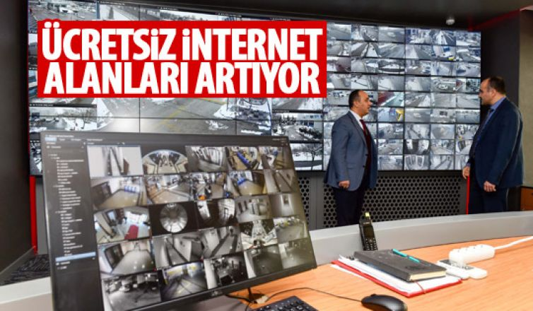Ücretsiz internet noktaları artacak!