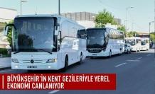 Büyükşehir'in kent gezileriyle yerel ekonomi canlanıyor
