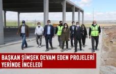 Gölbaşı Belediye Başkanı Şimşek, Devam Eden Projeleri Yerinde İnceledi
