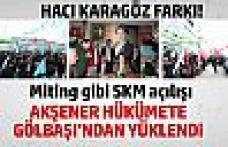 Hacı Karagöz'ün SKM açılışını Akşener yaptı