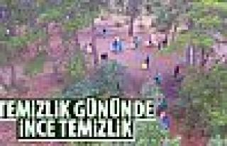 15 Eylül Dünya Temizlik Günü'nde Ankara'da temizlik