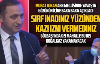MHP'li Ilıkan'dan Yavaş'a: Gölbaşı'ndaki...