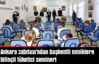 Ankara zabıtası'ndan başkentli miniklere bilinçli...
