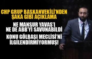 CHP'Lİ ÖKMEN'DEN ŞAKA GİBİ AÇIKLAMA