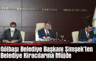 Gölbaşı Belediye Başkanı Şimşek'ten Belediye...