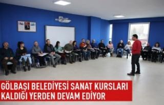 Gölbaşı Belediyesi Eğitim Kurslarının Startını...