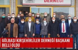 Gölbaşı Kırşehirliler Derneği başkanı belli...